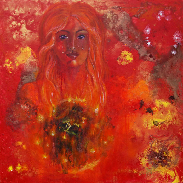 Burning Earth - Tears in Heaven © Monika Schmitt