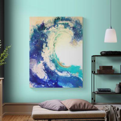 Energiebild Die Welle - © Monika Schmitt