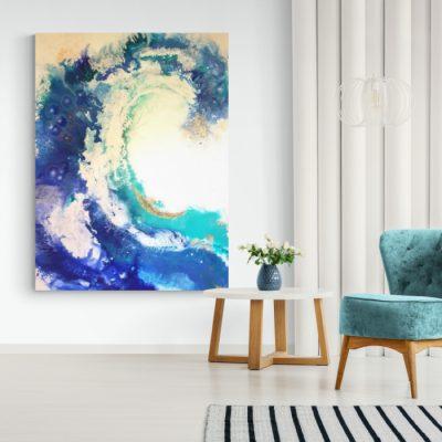 Energiebild Die Welle © Monika Schmitt
