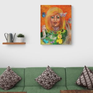 Energiebild Lady Ostara Wicca Jahreskreisfest 3 © Monika Schmitt